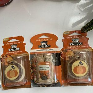 Yankee Candles Car jars